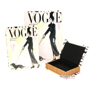 Bộ Sách Gỗ 3 Cuốn Tạp Chí Vogue