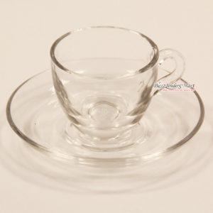 Bộ tách trà thủy tinh