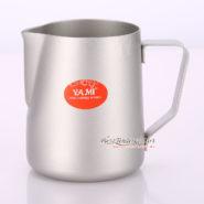 Ca Đánh Sữa YaMi 300ml Màu Bạc - Teflon milk pitcher 6882