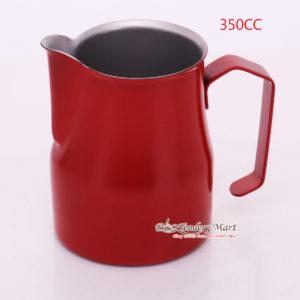 Ca Đánh Sữa YaMi 350ml Màu Đỏ - Teflon Milk Jug