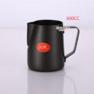 Ca Đánh Sữa YaMi 600ml Màu Đen - Teflon milk pitcher