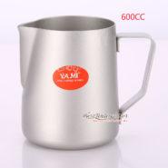 Ca Đánh Sữa YaMi 600ml Màu Trắng - Teflon milk pitcher