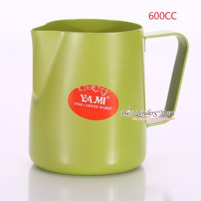 Ca Đánh Sữa YaMi 600ml Màu Xanh - Teflon milk pitcher
