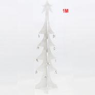 Cây Thông Noel Gỗ 1 Mét Màu Trắng Trang Trí