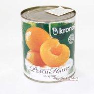 Đào Đóng Hộp Kronos Peach Halves in Syrup
