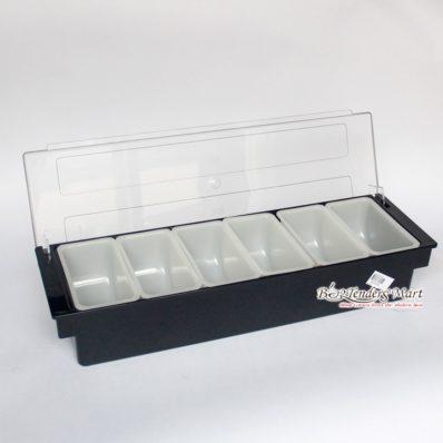 Hộp đựng trang trí 6 ngăn DC3109 - Garnish tray