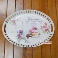 Khay Oval Vintage 01