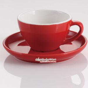 Tách Espresso Bằng Sứ Yami Chuẩn WBC 75CC Màu Đỏ