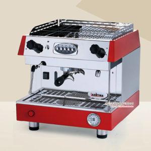Máy Pha Cafe Espresso Ladetina 1 Group Màu Đỏ DZ-1A