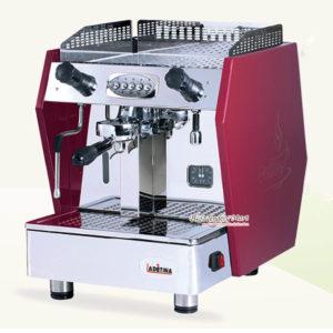 Máy Pha Cafe Ý Ladetina 1 Group LE-1 Màu Đỏ