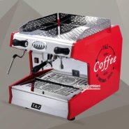 Máy Pha Cafe Espresso T&Z 1 Group Màu Đỏ