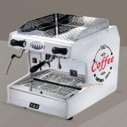 Máy Pha Cafe Espresso T&Z 1 Group Màu Trắng