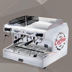 Máy Pha Cafe Espresso T&Z 2 Group Màu Trắng