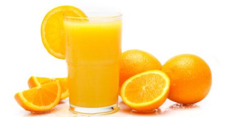 Nước ép trái cây từ cam