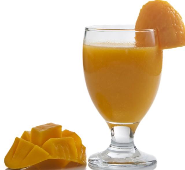 nước ép trái cây nguyên chất từ xoài