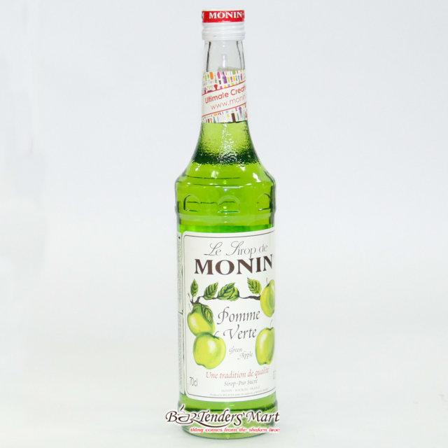 Syrup Monin Green Apple 700cc – Siro Táo Xanh là nguyên liệu sirô bạc hà dùng pha chế đồ uống, cocktail trong các quán bar,cafe.