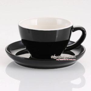 tách espresso yami wbc màu đen