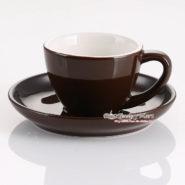 tách espresso yami wbc màu nâu