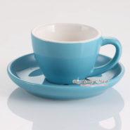 tách espresso yami wbc màu xanh dương
