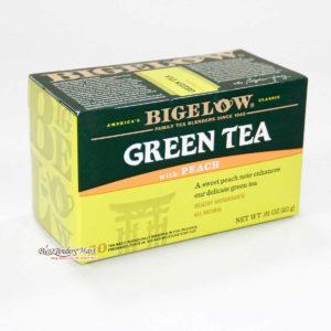 Trà Bigelow Green Tea Peach 20bag