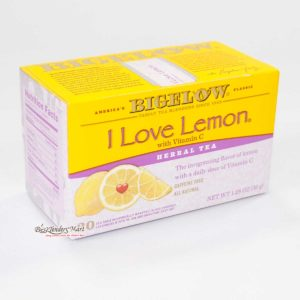 Trà Bigelow I Love Lemon 20bag