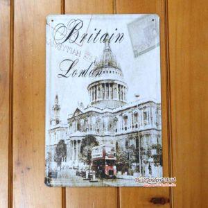 Tranh inox Hình Thủ Đô London