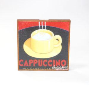 Tranh Trang Trí Hình Ly Cafe Cappuccino Bằng Gỗ Tranh Trang Trí Hình Ly Cafe Cappuccino Bằng Gỗ