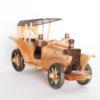 xe antique trang trí bằng gỗ